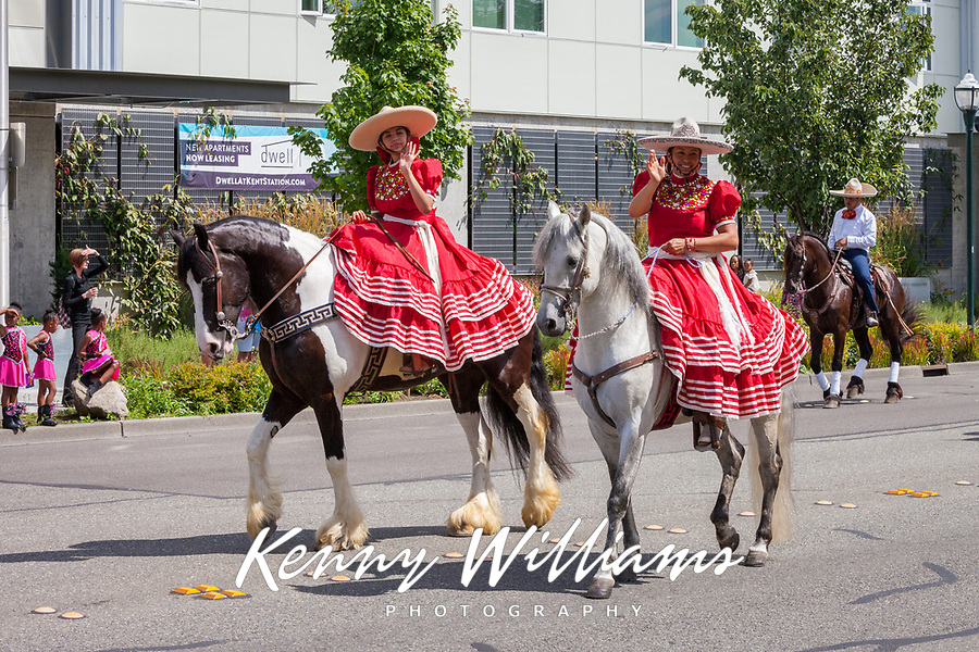 Kent Cornucopia Days 2017, Kent, Washington, USA.