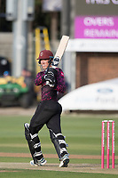 Tom Banton of Somerset CCC pulls behind square for four runs during Essex Eagles vs Somerset, Vitality Blast T20 Cricket at The Cloudfm County Ground on 7th August 2019
