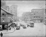 Frederick Stone negative. Exchange Place 1922.
