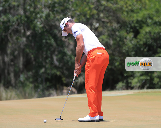 Billy Horschel (USA)  during the Third Round of The Players, TPC Sawgrass, Ponte Vedra Beach, Jacksonville.   Florida, USA. 14/05/2016.<br /> Picture: Golffile | Mark Davison<br /> <br /> <br /> All photo usage must carry mandatory copyright credit (&copy; Golffile | Mark Davison)