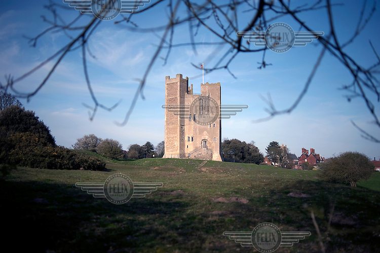Orford Castle, Suffolk, built between 1165 and 1173 by Henry II...