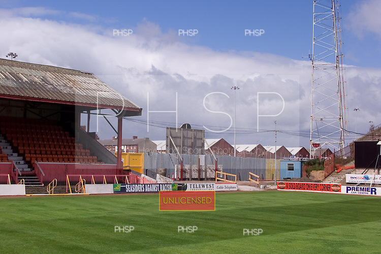 23/06/2000 Blackpool FC Bloomfield Road Ground..west stand, north section.....© Phill Heywood.