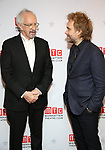 """Jonathan Pryce and Florian Zeller during the Broadway Opening Night After Party for the MTC  production of  """"The Height Of The Storm"""" at the Copacabana on September 24, 2019 in New York City."""