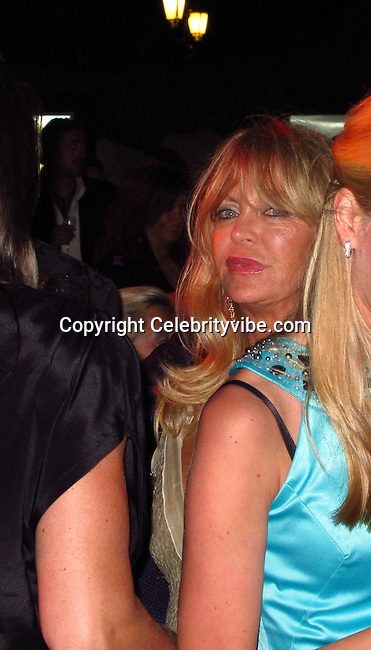 Goldie Hawn..De Grisogno Party..2011 Cannes Film Festival..Eden Roc Restaurant at Hotel Du Cap..Cap D'Antibes, France..Tuesday, May 17, 2011..Photo By CelebrityVibe.com..To license this image please call (212) 410 5354; or.Email: CelebrityVibe@gmail.com ;.website: www.CelebrityVibe.com.**EXCLUSIVE**