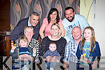 Cullan Casey, Faha who celebrated his christening with his parents Donal and Lisa, his big sisters Síomha and Chloe, his grandparents Tim and Helen O'Sullivan and god parents Noreen Fennell and Sean O'Sullivan in the Old Killarney Inn, Aghadoe on Saturday