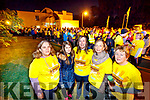 Dee Lyons, Xena Mitchell, Dawn Mitchell, Kay Lyons and Ita Behan, all from Tralee, pictured at the Darkness Into Light walk, Tralee, on Saturday last.