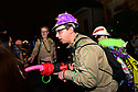 Krewe du Vieux marches through Marigny and the French Quarter, 2019.