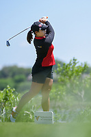 Moriya Jutanugarn (THA) watches her tee shot on 2 during round 1 of  the Volunteers of America LPGA Texas Classic, at the Old American Golf Club in The Colony, Texas, USA. 5/5/2018.<br /> Picture: Golffile | Ken Murray<br /> <br /> <br /> All photo usage must carry mandatory copyright credit (&copy; Golffile | Ken Murray)