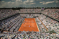 AMBIENCE<br /> <br /> Tennis - French Open 2014 -  Roland Garros - Paris -  ATP-WTA - ITF - 2014  - France -  8th June 2014. <br /> <br /> &copy; AMN IMAGES
