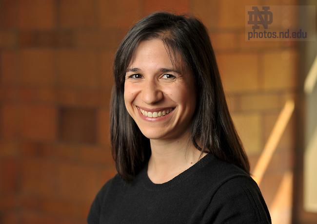 Kristin Valentino for Endowed Chairs..Photo by Matt Cashore/University of Notre Dame