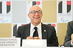 Sabatino Aracu, <br /> AUGUST 7, 2015 : <br /> International Roller Sports Federation (FIRS) <br /> holds a media conference following its interview <br /> with the Tokyo 2020 Organising Committee in Tokyo Japan. <br /> (Photo by YUTAKA/AFLO SPORT)
