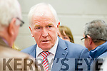 Jimmy Deenihan at the Kerry General Election Count in Killarney.