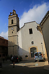 Historic church in village of Vall de Ebo, Marina Alta, Alicante province, Spain
