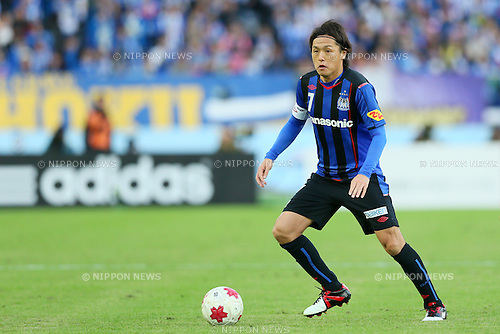 Yasuhito Endo (Gamba), <br /> DECEMBER 13, 2014 - Football /Soccer : <br /> The 94th Emperor's Cup All Japan Football Championship <br /> Final <br /> between Gamba Osaka - Montedio Yamagata<br /> at Nissan Stadium, Tokyo, Japan. <br /> (Photo by Yohei Osada/AFLO SPORT) [1156]