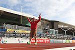 IPC European Athletics Championship 2014<br /> Natalia Jasinka POL<br /> Women's Long Jump T37<br /> Swansea University<br /> 21.08.14<br /> ©Steve Pope-SPORTINGWALES