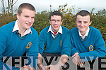 MATHS: Winners of the recent Maths Quiz at IT Tralee, front l-r: Diarmuid Reen, Michael McCarthy and Sean Knott of Mercy Mounthawk school in Tralee.   Copyright Kerry's Eye 2008