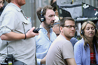 July 3, 2012: Director John Carney on the set of &quot;Can a Song Save Your Life?&quot; in New York City. &copy; RW/MediaPunch Inc. /*NORTEPHOTO.COM*<br />