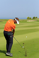 Joost Luiten (NED) during the final round of the NBO Open played at Al Mouj Golf, Muscat, Sultanate of Oman. <br /> 18/02/2018.<br /> Picture: Golffile | Phil Inglis<br /> <br /> <br /> All photo usage must carry mandatory copyright credit (&copy; Golffile | Phil Inglis)