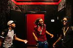 Two-thirds of the rap trio Migos at 1479 Studios in Atlanta, Georgia June 18, 2013.