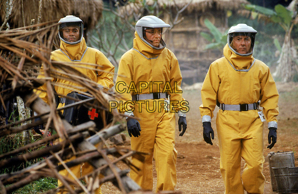 Cuba Gooding, Jr., Kevin Spacey, Dustin Hoffman<br /> in Outbreak (1995) <br /> *Filmstill - Editorial Use Only*<br /> CAP/NFS<br /> Image supplied by Capital Pictures