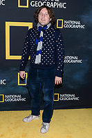 "NEW YORK CITY - MARCH 14: Daniel Pemberton attends National Geographic's ""One Strange Rock"" screening and Q&A at Alice Tully Hall at Lincoln Center on March 14, 2018 in New York City. (Photo by Anthony Behar/NatGeo/PictureGroup)"