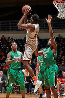 SAN ANTONIO, TX - FEBRUARY 6, 2016: The University of Texas at San Antonio Roadrunners fall to the Marshall University Thundering Herd 109-91 at the UTSA Convocation Center. (Photo by Jeff Huehn)