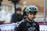 Marianne Vos (NED) WM3 Pro Cycling Team at sign on before the start of the Ladies 2017 Strade Bianche running 127km from Siena to Siena, Tuscany, Italy 4th March 2017.<br /> Picture: Eoin Clarke   Newsfile<br /> <br /> <br /> All photos usage must carry mandatory copyright credit (&copy; Newsfile   Eoin Clarke)