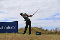 Ashley Chesters (ENG) tees off the 2nd tee during Friday's Round 2 of the 2018 Dubai Duty Free Irish Open, held at Ballyliffin Golf Club, Ireland. 6th July 2018.<br /> Picture: Eoin Clarke | Golffile<br /> <br /> <br /> All photos usage must carry mandatory copyright credit (&copy; Golffile | Eoin Clarke)