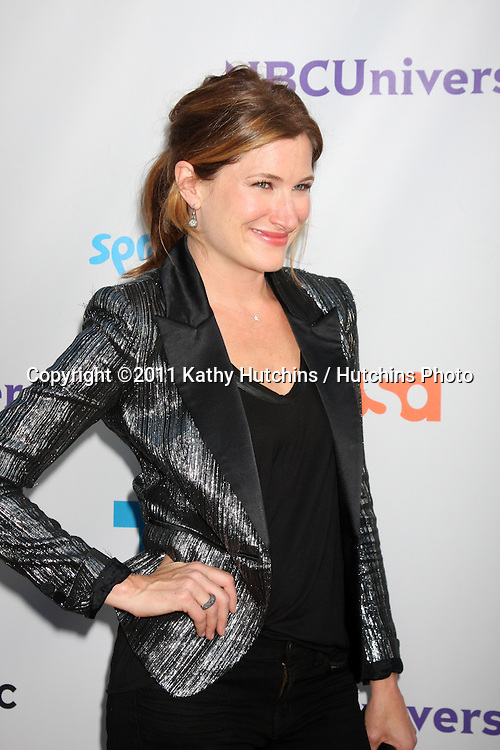 LOS ANGELES - AUG 1:  Kathryn Hahn arriving at the NBC TCA Summer 2011 Party at SLS Hotel on August 1, 2011 in Los Angeles, CA