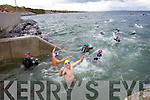 Ciara?n O'Hara who has a prostetic leg since childhood took part in the inaugural Ballyheigue swim which went from the slip at Kerryhead to Ballyheigue Beach on Tuesday night.