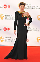 Emma Willis at the Virgin TV British Academy (BAFTA) Television Awards 2018, Royal Festival Hall, Belvedere Road, London, England, UK, on Sunday 13 May 2018.<br /> CAP/CAN<br /> &copy;CAN/Capital Pictures