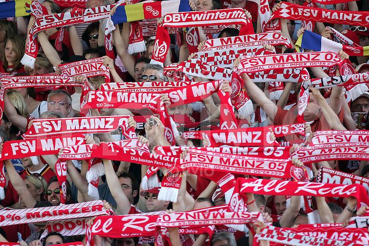 Fussball   1. Bundesliga   Saison 2006/2007 Fans vom FSV Mainz 05