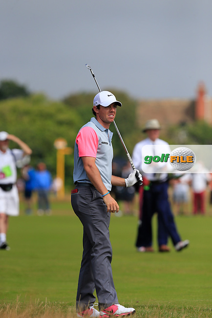 Rory MCILROY (NIR) during round four of The 143rd Open championship Royal Liverpool Golf club, Hoylake, England.: Picture Fran Caffrey, www.golffile.ie: 20th July 2014