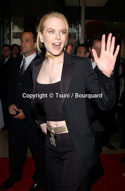 Nicole Kidman arriving at the 5th Hollywood Film Festival Gala Ceremony Awards at the Beverly Hilton in Los Angeles.  August 6, 2001 © Tsuni          -            KidmanNicole06.jpg
