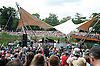 Lang Lang performs at the Latitude Festival<br /> Henham Park, Suffolk, Great Britain <br /> Sunday 15th July 2012 <br /> <br /> Lang Lang <br /> performing on the Waterfront Stage at midday <br /> and arriving at the stage by Gondola his repertoire Included a Chopin Etude. <br /> <br /> Photograph by Elliott Franks <br /> <br /> LANG LANG<br /> Lang Lang is a superstar&ndash;as pianist, educator, advocate, philanthropist and more. Heralded as the &ldquo;hottest artist on the classical music planet&rdquo; by the New York Times, the star, 29 year-old Lang Lang has played sold out recitals and concerts in every major city in the world and is the first Chinese pianist to be engaged by the Vienna Philharmonic, Berlin Philharmonic and all the top American orchestras.<br /> <br /> Most recently, he performed for President Barack Obama and President Hu Jin-tao at the White House State Dinner.