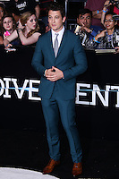 "WESTWOOD, LOS ANGELES, CA, USA - MARCH 18: Miles Teller at the World Premiere Of Summit Entertainment's ""Divergent"" held at the Regency Bruin Theatre on March 18, 2014 in Westwood, Los Angeles, California, United States. (Photo by David Acosta/Celebrity Monitor)"