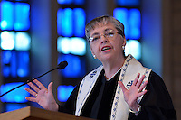 Rev. Dr. Cynthia Campbell speaks during Louisville Presbyterian Theological Seminary's Engagement Week 2013.