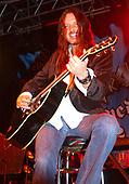 Dokken - guitarist Reb Beach performing with Dokken on the VH1 Metal Mania Tour at Sirius Satellite Radio Station, New York - circa 2004 - Photo by: Eddie Malluk /IconicPix