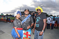 Fans from the 2019 HSBC World Sevens Series Hamilton at FMG Stadium in Hamilton, New Zealand on Saturday, 26 January 2018. Photo: Shane Wenzlick / lintottphoto.co.nz
