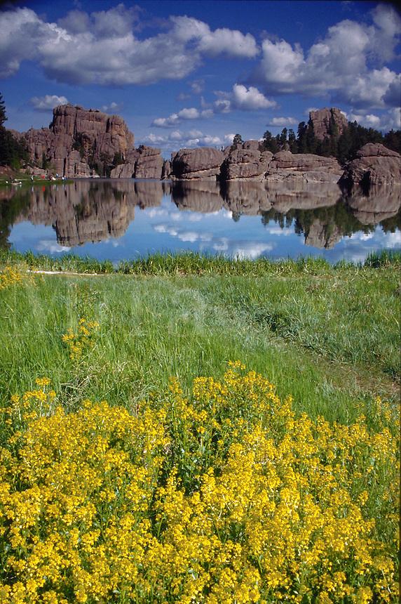 Sylvan Lake in South Dakota's Custer State Park