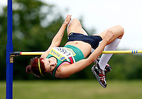Photo: Richard Lane/Richard Lane Photography..Aviva World Trials & UK Championships athletics. 12/07/2009. Adele Lassu during the women's high jump.