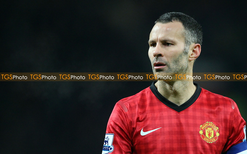 Ryan Giggs of Man Utd - Manchester United vs West Ham United, FA Cup 3rd Round Replay at Old Trafford, Manchester - 16/01/13 - MANDATORY CREDIT: Rob Newell/TGSPHOTO - Self billing applies where appropriate - 0845 094 6026 - contact@tgsphoto.co.uk - NO UNPAID USE.