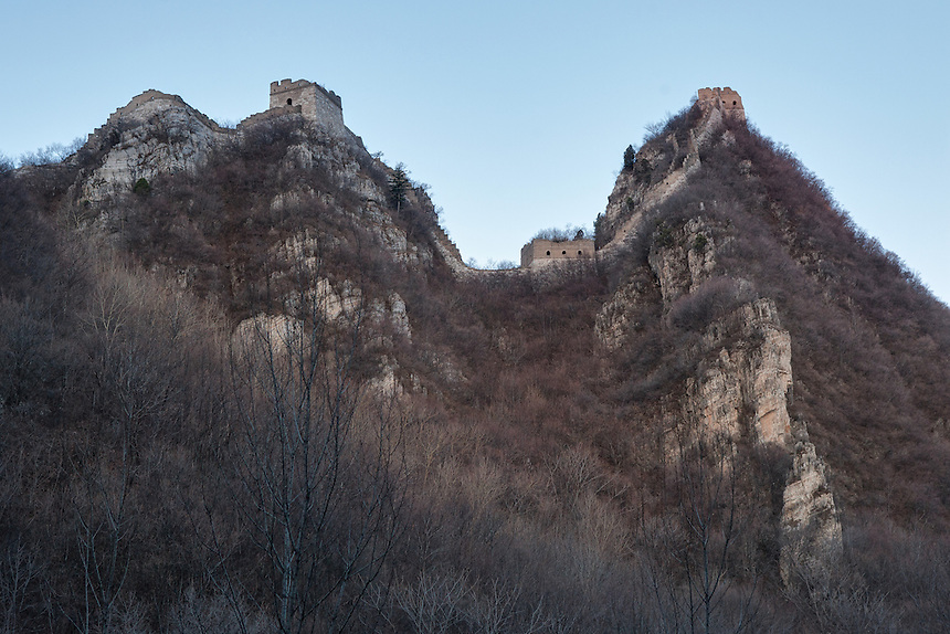 "The most difficult part of Jiankou where the name of the Great Wall in this area was taken. Jiankou, which translated as ""arrow nock"" is one of the most dangerous part of the Great Wall of China. However, at the same time, it is also arguably one of the most beautiful."