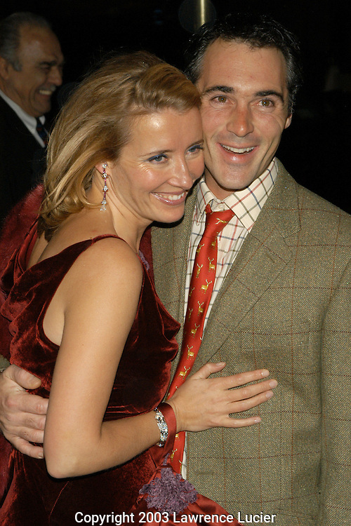 Emma Thompson and husband Greg Wise