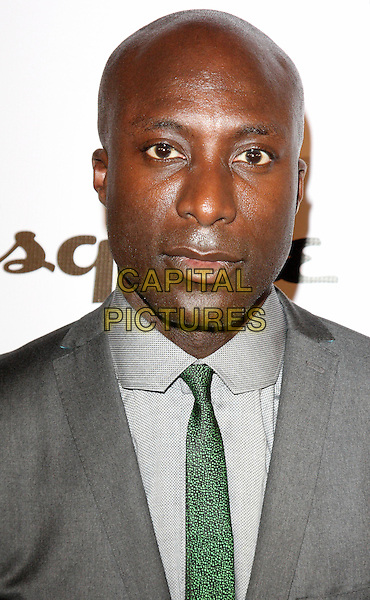 OZWALD BOATENG  .Esquire magazine June Issue Launch Party at Sketch, London, England. .May 5th 2011.headshot portrait tie grey gray.CAP/ROS.©Steve Ross/Capital Pictures