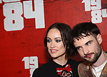 Olivia Wilde and Tom Sturridge attend the Broadway Opening Night Party for George Orwell's '1984' at The Lighthouse Pier 61 on June 22, 2017 in New York City.