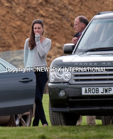 "Please telephone +441279 324672/0777 5681153 for usage..KATE MIDDLETON'S TETE-A TETE WITH JAMIE LOWTHER-PINKERTON.Observing Kate looking down in the dumps, Jamie Lowther-Pinkerton, Prince William's Private Secretary takes a moment before having a lengthy tete-a-tete with her..Kate Middleton watched the boyfriend Prince William play in the Chakravarty Cup at Beaufort Polo Club_Cirencester_18/07/2009.Mandatory Photo Credit: ©Dias/Newspix International..**ALL FEES PAYABLE TO: ""NEWSPIX INTERNATIONAL""**..PHOTO CREDIT MANDATORY!!: NEWSPIX INTERNATIONAL(Failure to credit will incur a surcharge of 100% of reproduction fees)..IMMEDIATE CONFIRMATION OF USAGE REQUIRED:.Newspix International, 31 Chinnery Hill, Bishop's Stortford, ENGLAND CM23 3PS.Tel:+441279 324672  ; Fax: +441279656877.Mobile:  0777568 1153.e-mail: info@newspixinternational.co.uk"