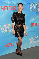 "LOS ANGELES, USA. October 17, 2019: Ginger Gonzaga  at the premiere of ""Living With Yourself"" at the Arclight Theatre, Hollywood.<br /> Picture: Paul Smith/Featureflash"
