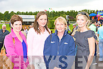 Veronica Walsh, Chloe O'Flynn, Maura Moylan and Deirdre O'Flynn Killarney at the Killarney Races on Monday