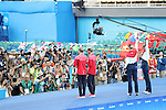Yukiko Inui &amp; Risako Mitsui (JPN), <br /> AUGUST 16, 2016 - Synchronized Swimming : <br /> Duets Technical Routine <br /> at Maria Lenk Aquatics Centre <br /> during the Rio 2016 Olympic Games in Rio de Janeiro, Brazil. <br /> (Photo by Koji Aoki/AFLO SPORT)